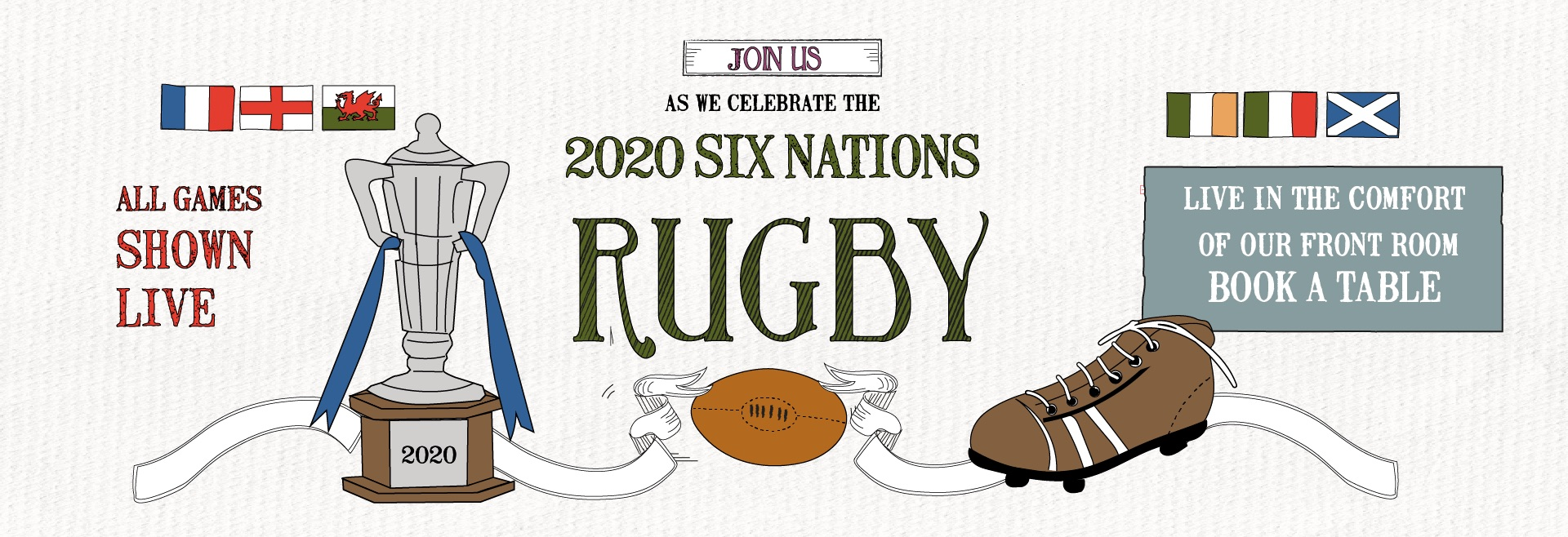 Six Nations at The Marquis of Granby