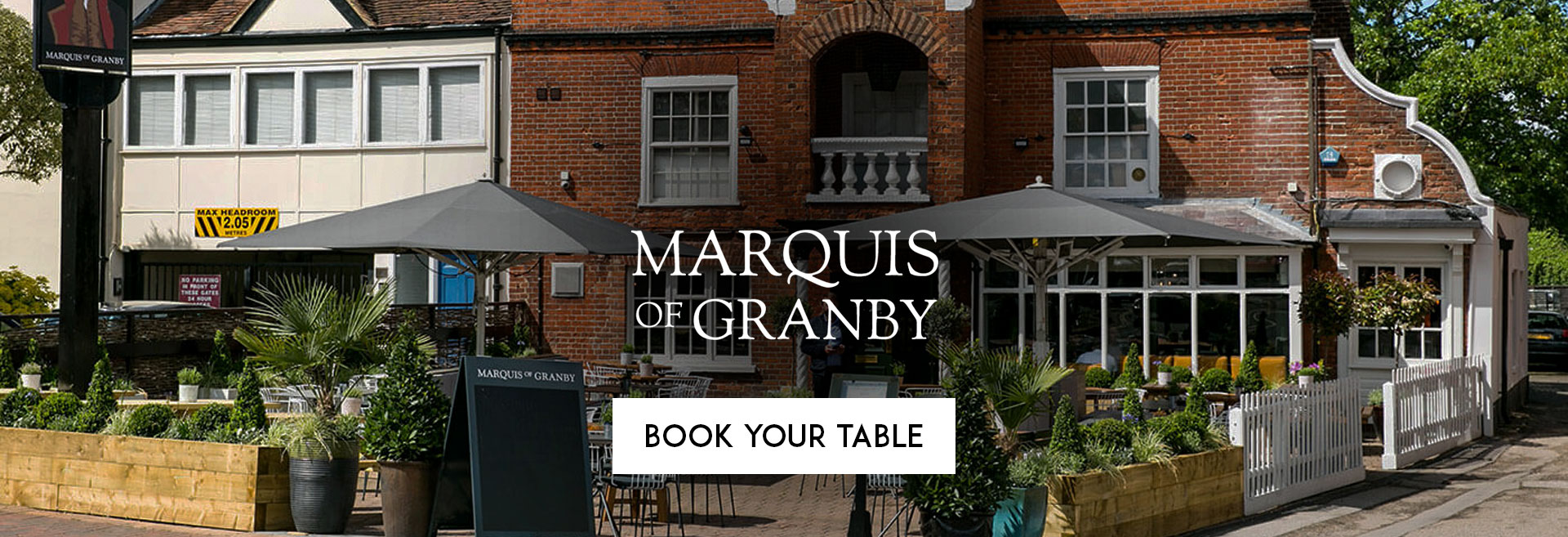 Book Your Table at The Marquis of Granby